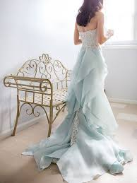 blue wedding dresses 20 dreamy blue wedding gowns