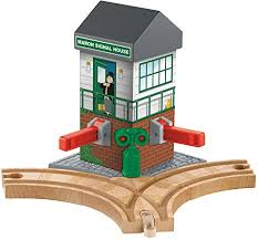 signal shed amazon com fisher price thomas friends wooden railway maron