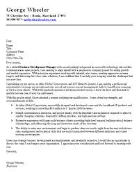 brilliant ideas of cover letter for business manager sample with