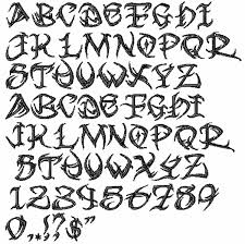 gallery for u003e tribal lettering fonts tribal tattoo lettering