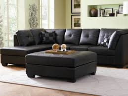 Sofa Set L Shape Sofa 4 Black And White Couch Pattern Pillows Zigzag 2 Piece