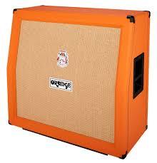 Orange Cabinet 4x12 Orange Ppc412 Slope Black Thomann Uk