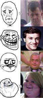 Meme Vs Rage - meme original vs rage comic by cernaev95 meme center