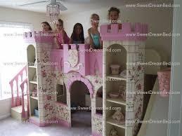 Princess Castle Bunk Bed Bedroom Appealing Powell Princess Castle Twin Tent Bunk Bed With