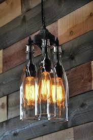 beer bottle light fixture wine bottle light fixture chandelier for ideas for reusing glass
