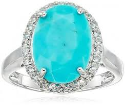 turquoise wedding rings shopping for turquoise engagement rings lovetoknow