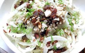 comment cuisiner le fenouille salade de fenouil à la cannelle et aux noisettes recette de salade