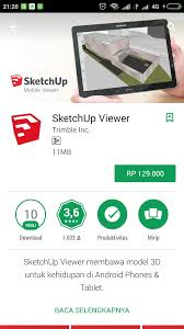 sketch up apk sketchup viewer apk terbaru gratis tutorial sketchup