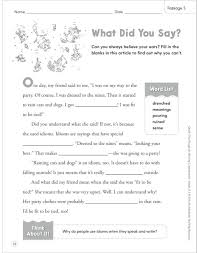 quick cloze passages for boosting comprehension grades 2 u20133 by