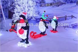 led penguin for outdoor decoration buy led penguin