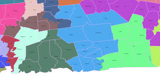 Connecticut State Map by Election 2016 Coverage Zip06 Com