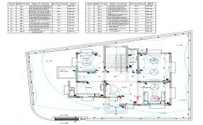 house plan layout house plan view detail electrical plan layout dwg file