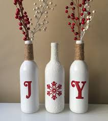 christmas crafts with wine bottles living room ideas