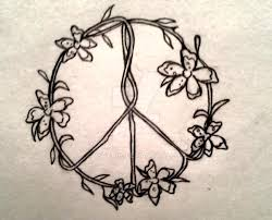 flower peace sign by vstar06 on deviantart