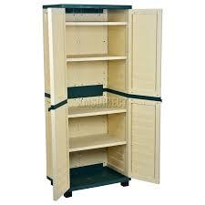 small outdoor plastic storage cabinet impressive outdoor plastic cupboard for rubbermaid plastic small