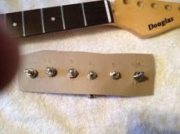 reimagining the douglas gravity headstock a guitar forum