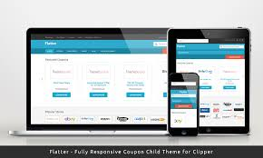 flatter a responsive and flat child theme for clipper