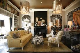 the glamorous world of ron woodson wallpaper interiors and