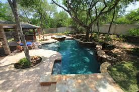 custom swimming pool builder in austin poolscapes inc