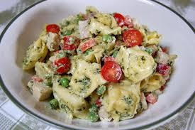 chicken pesto tortellini salad cooking mamas