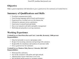 Examples Of Waitress Resume by Waitress Resume Sample Haadyaooverbayresort Com