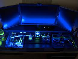 bureau pc intégré casemod un ordinateur dans un bureau