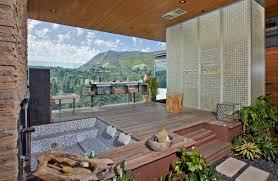 Open Bathroom Design by Open Air Bathroom Designs Home Design Home Design