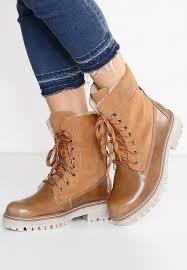 s boots uk s oliver label lace up boots camel zalando co uk