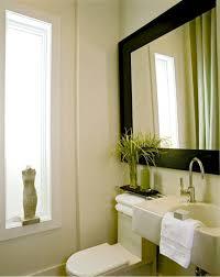 white framed bathroom mirror design ideas