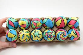 painted easter eggs painted stained glass easter eggs ilovetocreate
