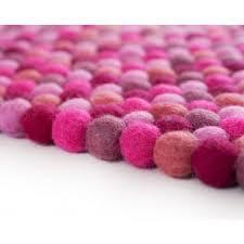 Nepal Felt Ball Rug Felt Ball Rugs 25 Sale All Sizes U0026 Colors Sukhi