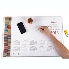 sous bureau personnalis photos bloc note agenda smtk imprimeur numérique grand format en savoie