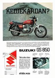suzuki gs850g magazine ads