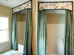 fabric shower curtains with valance u2013 teawing co