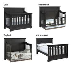 How To Convert Crib To Daybed Oxford Baby Dallas 4 In 1 Convertible Crib Slate Babies R Us