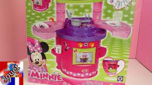 jeux de minnie cuisine cuisine minnie mouse cuisine et four pour les enfants unboxing