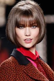 more pics of karlie kloss bob 18 of 18 short hairstyles runway magic look it s karlie kloss with anna wintour hair glamour