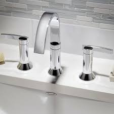 Berwick Widespread Faucet Lever Handles American Standard Modern Bathroom Faucets And Fixtures