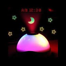 night light alarm clock sales starry digital magic led projection alarm clock night