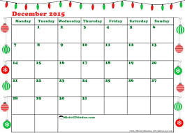 decemberchristmas calendar 2016 blank calendar design 2017