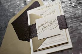 and black wedding invitations 220lb 600gsm