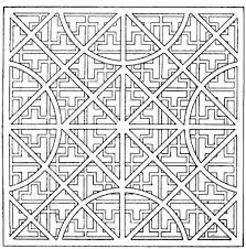free printable coloring pages for adults geometric regarding