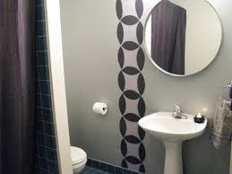 contemporary modern half bathroom ideas gray wall color vessel designs modern half bathroom