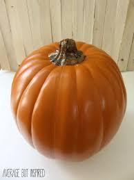 how to make fake pumpkins look real