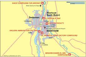 africa map khartoum target khartoum article africa confidential