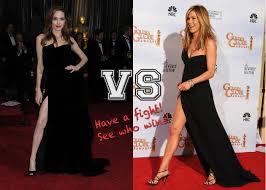 poll it u0027s a leg off jen or jolie whose pins do you prefer