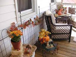 Fall Patio Design Fall Patio Decor Front Yard Landscaping Decorating Design