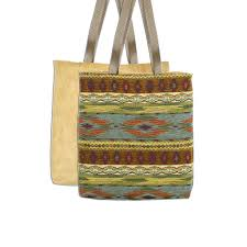 southwest tucson desert tote bag lined u0026 fully reversible to
