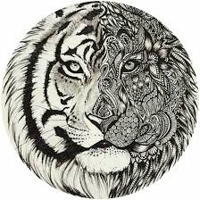 coloring page tigers adult tiger coloring page colorings pages pinterest tigers