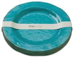 veranda melamine dinner plates set of 4 dinner plates by